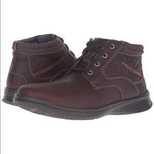 Clark's NWT Cotrell Rise Leather Boots